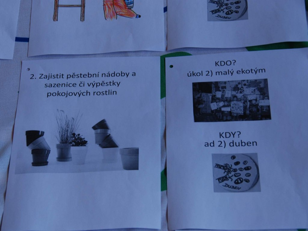8. setkání malého ekotýmu k realizaci plánu činnosti 3