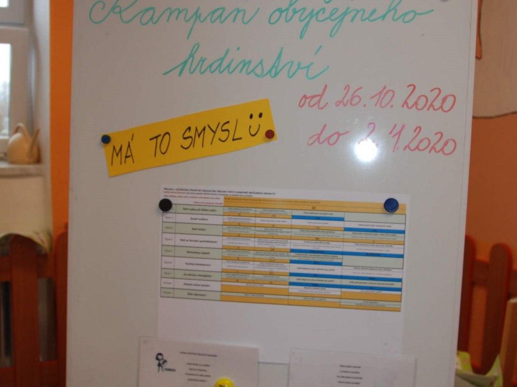 2. setkání malého ekotýmu - tvorba posteru a výsledky výzvy ekoškoly 2