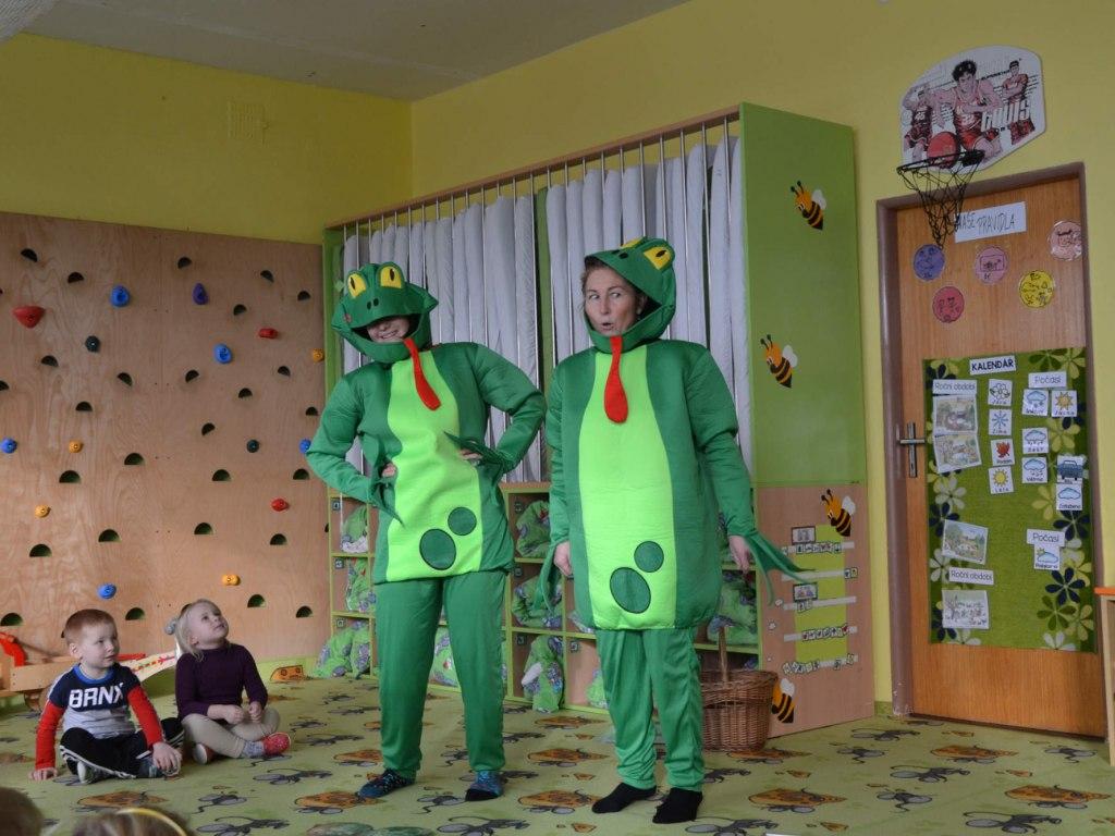 Žabky Kuňka a Žbluňk motivují děti pro tvorbu ekokodexu 2
