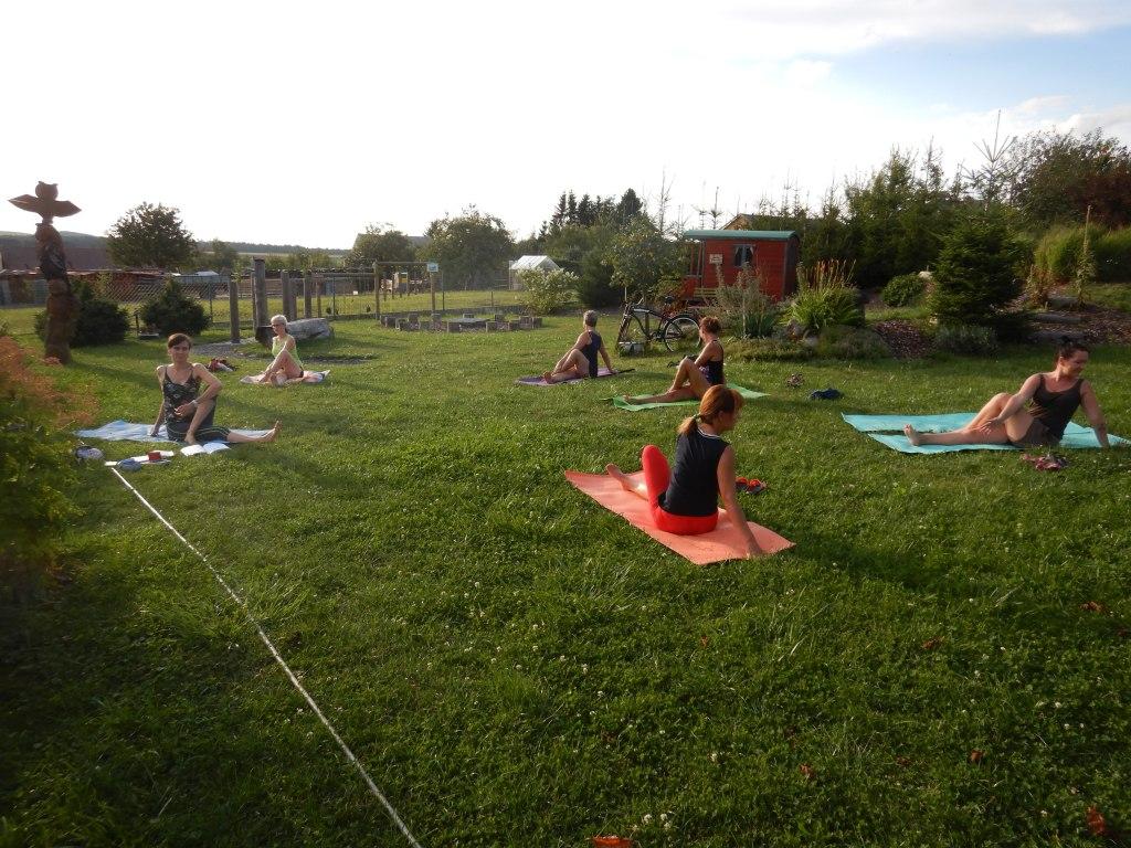 cvičení jóga 1