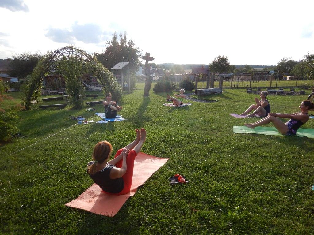 cvičení jóga 3