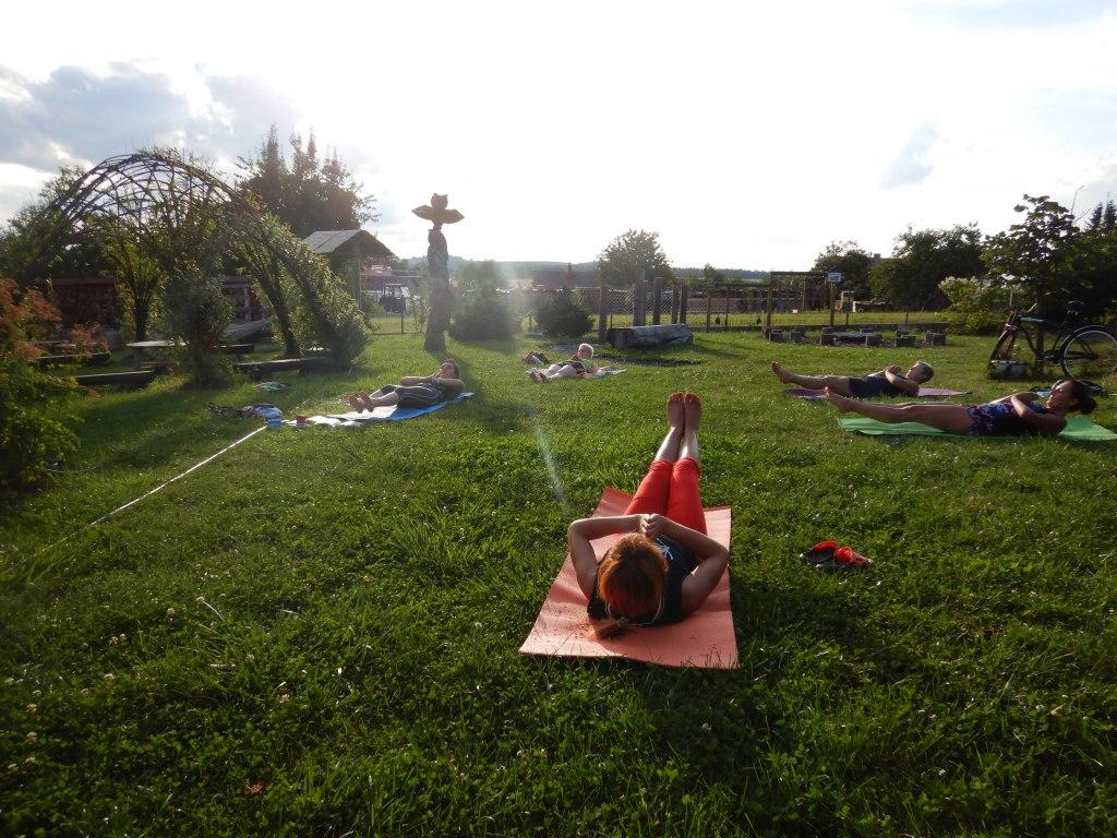 cvičení jóga 4
